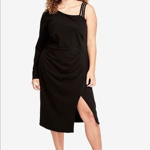 Rachel Roy one shoulder dress